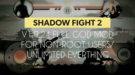 non root hack update shadow fight 2 v1 9 24 mod apk