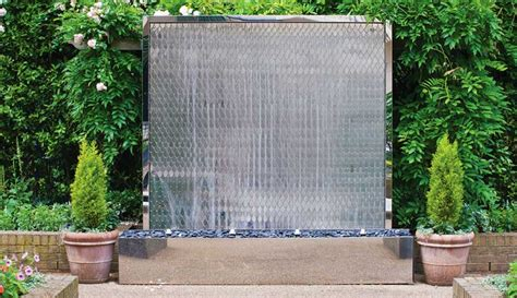 water feature for wall wall water feature the petal wall david harber uk
