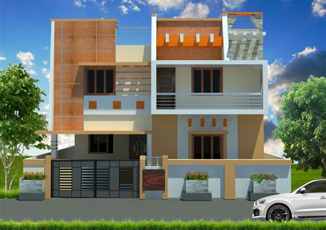 Indian Home Exterior Design Software by Orange N Combo Exterior Colour Combinations In