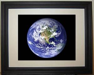 Planet Earth Outer Space Solar System NASA Framed Photo ...