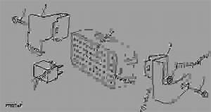 Bracket  Fuse Box  5045e 5055e 5065e