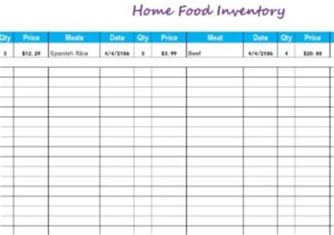 inventory templates  inventory templates