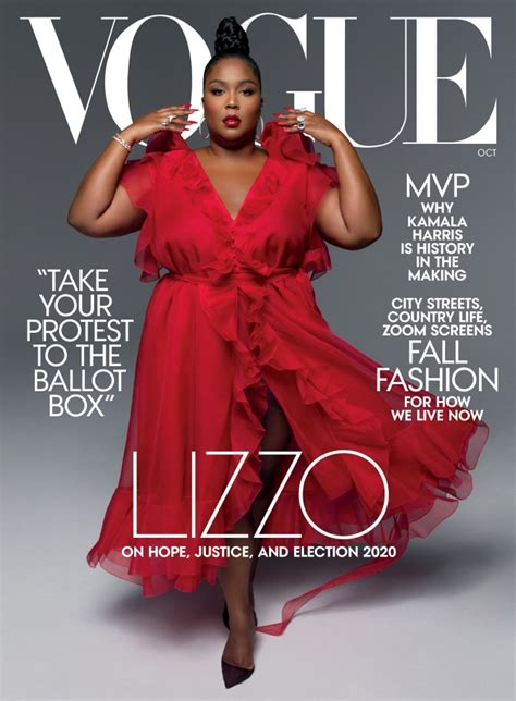 Lizzo on the Cover of 'Vogue' Is Good as Hell - Fashionista