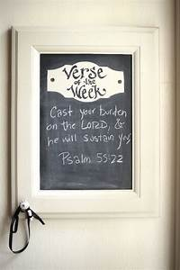 best 25 large chalkboard ideas on pinterest chalkboards With kitchen cabinets lowes with bible quote wall art