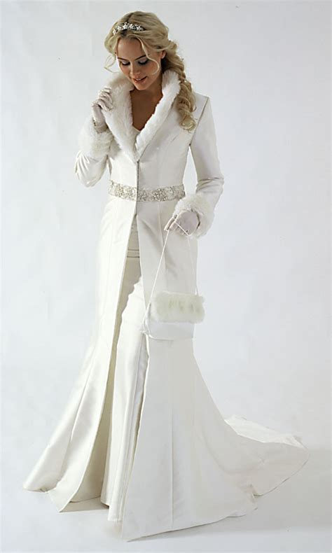 white christmas winter wedding dress sang maestro