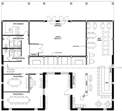 Floor Layout Of An Cafe by Restaurant Floor Plans Restaurant Floor Plan Change