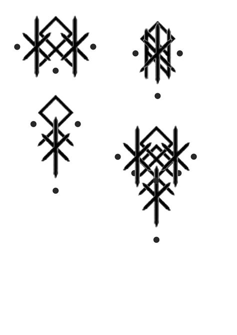 Bind runes for family, happy family | Rune tattoo, Norse