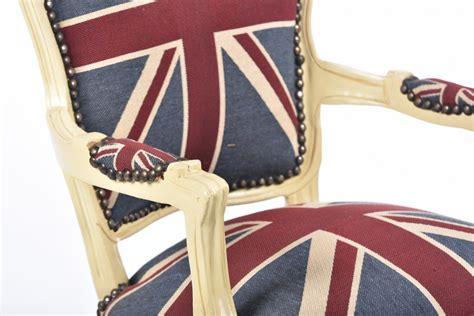 poltrona bandiera inglese antica soffitta poltrona divano barocco uk bandiera