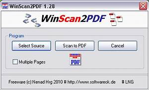 winscan2pdf scan files to pdf usb pen drive apps With software for scanning documents to pdf