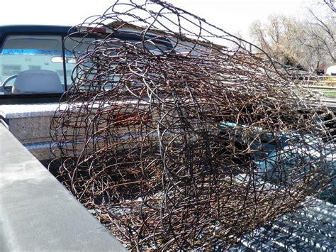 rusty wire wonderfully fencing loop entire roll