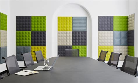 fabric panel wall buzzitile buzzispace