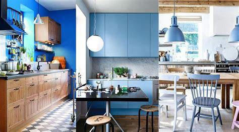 les cuisines de marine cuisine bleu 25 idées déco cuisine bleue