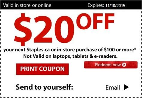 Office Depot Coupons Oct 2015 oct 28 2015 use printable coupon at staples canada and