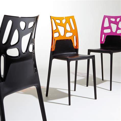 chaise cuisine design chaises design noires maison design wiblia