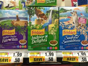 cat food coupons friskies cat food reset free at shoprite