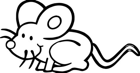 dirty mouse coloring page wecoloringpagecom