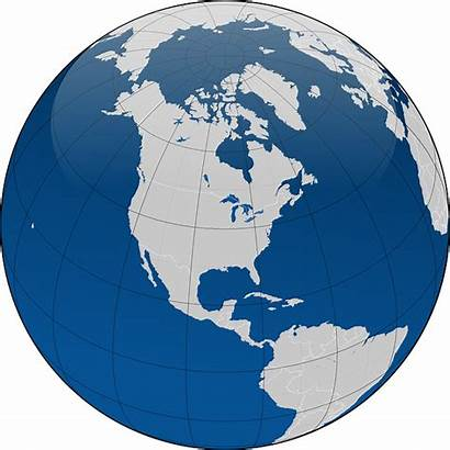 Earth Globe Planet Map Continents Coordinates Travel