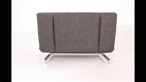 canapé fauteuil convertible design stockholm 120 cm