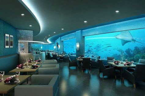 Ithaa Undersea Restaurant Interior