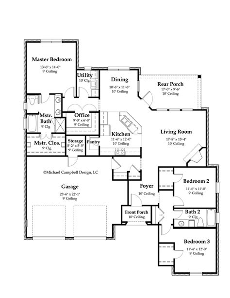 country kitchen floor plans country kitchen home floor plans house design plans