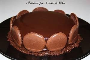 Décorer Un Gateau Au Chocolat : gateau au chocolat de cyril lignac avec un glacage il tait une fois la kuisine de c line ~ Melissatoandfro.com Idées de Décoration