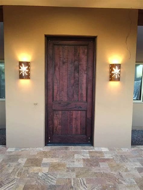 wall lights southwestern decor wall sconces outdoor