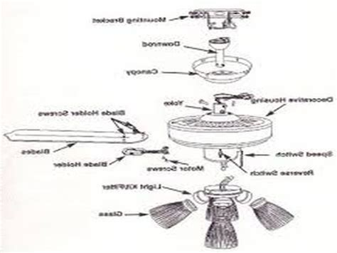 Parts Of A Ceiling Fan Taraba Home Review
