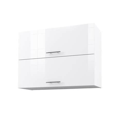 meuble haut cuisine blanc city meuble haut de cuisine l 80 cm blanc laqué brillant