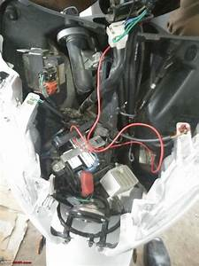 Honda Activa Diy  Adding A Pass Switch
