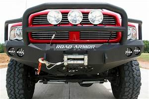 Road Armor 44045b Winch Front Bumper 2003
