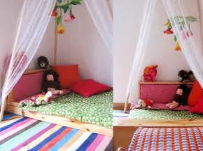 Two Floor Bed The Education Of Ours Two Beautiful Floor Bed Montessori Beds