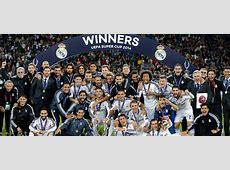 European Super Cup champions Real Madrid CF
