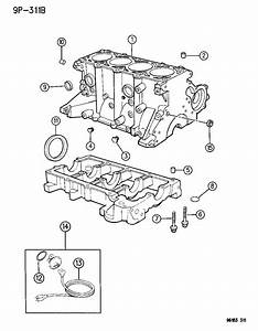 Chrysler Town  U0026 Country Plug  Core  Cylinder Block Oil