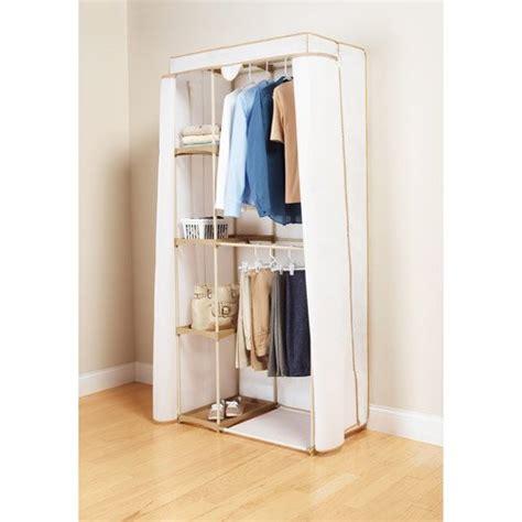 Walmart Portable Closet by Mainstays 2 Tier Hanging Wardrobe Walmart