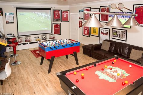 Uk's Best Games Rooms Compete To Become Man Cave Of The