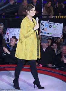 celebrity big brother host emma willis dresses her baby