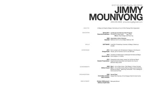 jimmy mounivong resume and 5 work sles check