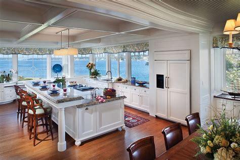 visual treat  captivating kitchens   ocean view