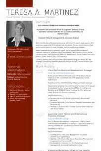 business development resume pdf unternehmensentwicklung cv beispiel visualcv lebenslauf muster datenbank