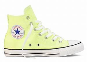 Converse Chuck Taylor All Star Hi Top Neon Yellow F