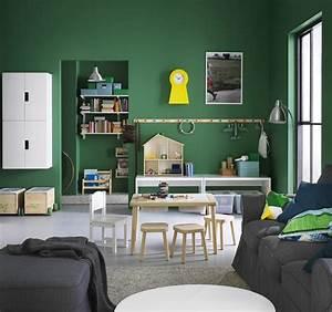 Rangement Ikea Chambre : id e rangement chambre enfant avec meubles ikea ~ Teatrodelosmanantiales.com Idées de Décoration