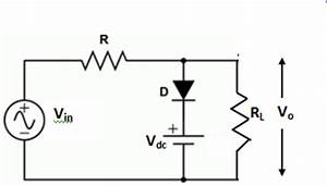 write short notes on clipping circuit and clamping circuit With clipper circuit
