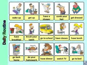 BASIC ENGLISH I: Daily Routine