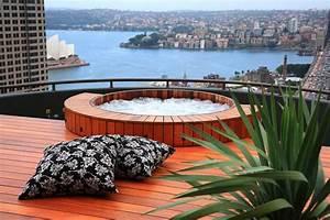 Hot tub garden design ideas landscape contemporary with