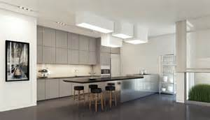 kitchen ceiling light fixtures ideas decoración de interiores modernos en gris y blanco