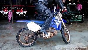 The Yamaha 250 Dirt Bike