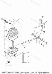 Yamaha Atv 2004 Oem Parts Diagram For Shift Shaft