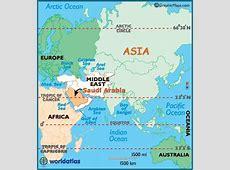 Localizador Mapa de Arabia Saudita Fact finder