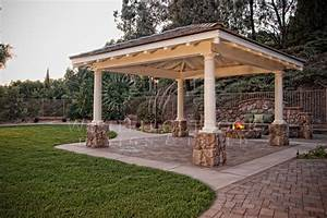 Image gallery outdoor patio cover plans for Outdoor patio covers design