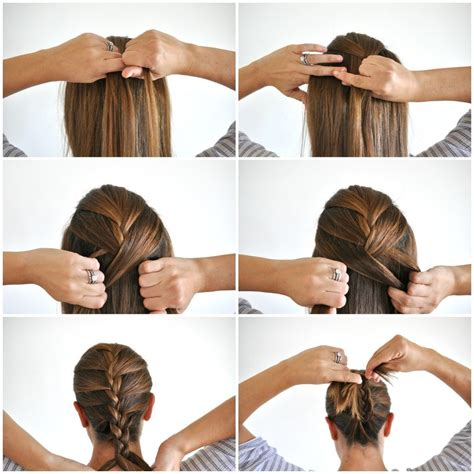 image result      french braid hair tips
